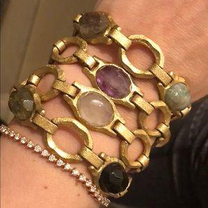 Francesca Villa bracelet costume jewelry